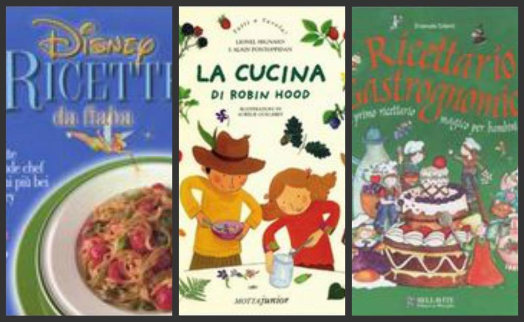 Libri di cucina per bambini for Libri di cucina professionali pdf