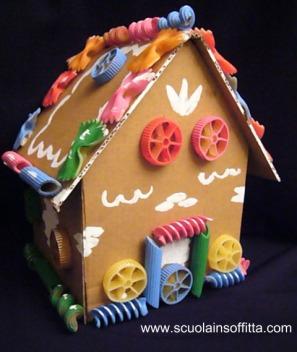 costruire una casa di cartone