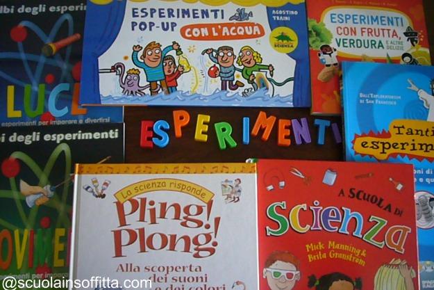 esperimetni scientifici per bambini